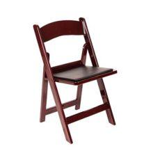 Skládací židle hnědá